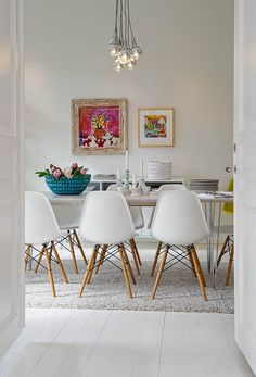 Lovely dining area