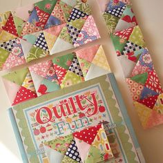Quarter Square Triangles | Flickr - Photo Sharing!