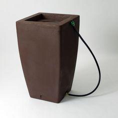 Madison 49 Gallon Rain Barrel with Fountain Kit