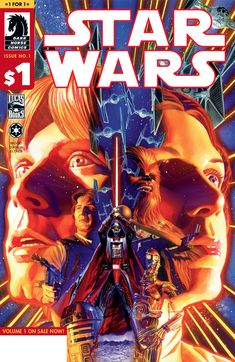 Spectacular STAR WARS Covers from Dark Horse Comics