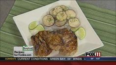Chipotle-Lime Pork Chops #recipe from WLUK FOX 11 Good Day Wisconsin Cooking with Amy Hanten. #recipes #video