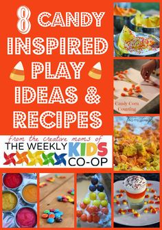 {Kid's Co-Op} 8 Candy-Inspired Play Activities and Recipes