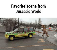 Favorite scene from Jurassic World GIF