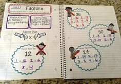 Interactive Math Notebook - Operations and Algebraic Thinking at Create●Teach●Share