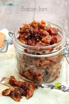 Bacon Jam It's sweet, salty and smoky! Perfect on burgers, sandwiches, quesadillas, and dips .
