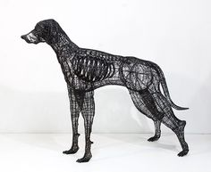 Thread and Wire Sculptures by Yong Won Song