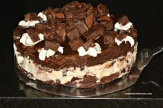 Brownie Hot Fudge Ice Cream Cake - Hugs and Cookies XOXO