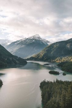 Diablo Lake - Morgan