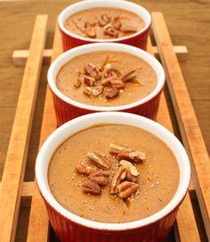 Pumpkin Custard! Cream of Wheat is simply good food for the body & soul! creamofwheat.com #healthy #homecooking #creamofwheat #pumpkin #custard #cinnamon #recipe