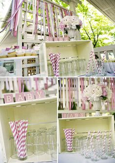 Pink and Lavender Baby Shower