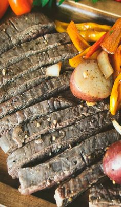 Grilled Steak with Avocado Sauce | Recipe