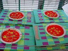 Alphabet Soup art activity