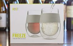 The Reverse Wine Snob: Freeze Cooling Wine Glasses Review - Be Prepared. Why spend big bucks on fancy wine glasses and wine fridges when you can stash a few of these nifty glasses in the freezer! http://www.reversewinesnob.com/2014/09/host-freeze-cooling-wine-glasses-review.html #wine #winelover