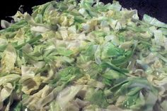 I'm trying to find a good sweet and sour cabbage recipe.  We'll have to see if this is good or not...