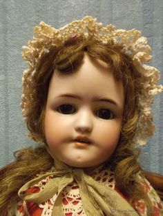 Antigua muñeca SIMON HALBIG 550 antique doll