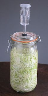 A Lacto Fermentation Kit Made With a Canning Jar
