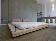 hanging-bed interior design, swing beds, hanging beds, floor, bed designs, morning coffee, master bedrooms, platform beds, dream bed