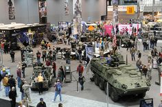 U.S. Army at Chicago Auto Show 2012: The Army is participating in the Chicago Auto Show 2012. The show runs through next Feb. 19th at the McCormick Place Convention Center. The U.S. Army has several exhibits including two concept lightweight, diesel-electric hybrid prototypes; and for the first time, General George Patton's 1938 Cadillac Staff car from the Patton museum at Fort Knox, Kentucky.