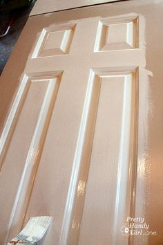 How to paint doors- the professional way!