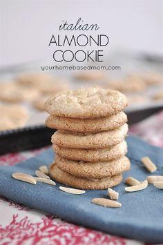 Italian Almond Cookies - your homebased mom