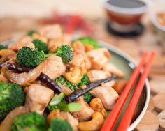 Paleo Chinese Chicken And Broccoil