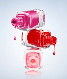 How to get nail polish off anything.