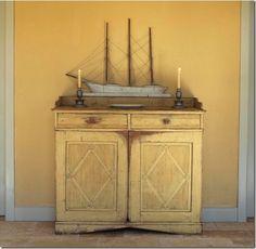 pale cabinet
