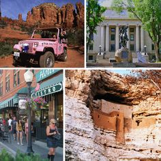 North central Arizona is a sight to be seen. With Red Rocks aplenty and historic city centers galore, there's plenty in these parts you'll love to explore.