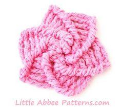 Little Abbee: TUTORIAL: Pin Wheel Flower