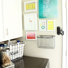#HomeGoodsHappy + #DIY = a laundry room that's LOADS of fun! Check out @diyplaybook for details! via Instagram