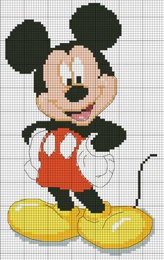 mickey mouse cross stitch, mickey pattern, crossstitch, jess pearl, pearl pearl