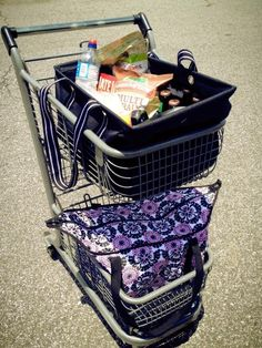 31 bags make grocery shopping so easy! A couple large utility totes and a thermal bag and you are set! No more zillions of plastic bags!