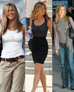 Jennifer Aniston for her simple yet classy style..