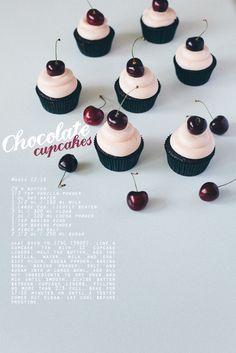 chocOlate vanilla buttercream cupcakes