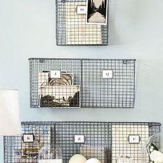PE Collection Double Wall Pocket   Ballard Designs