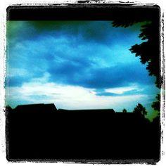 #sky #clouds #rain #storm #coming #beauty #nature #outside #instasky #ig #iger #igers #instagram - @foxymama923- #webstagram