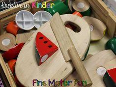 Fine Motor Fun!