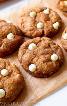 White Chocolate Pumpkin Snickerdoodles.