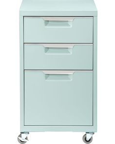 office spaces, mint green, file cabinet, mint file, filing cabinets, closet office, kitchen drawers, home offices, bright colors