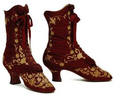 Late 1800s boots