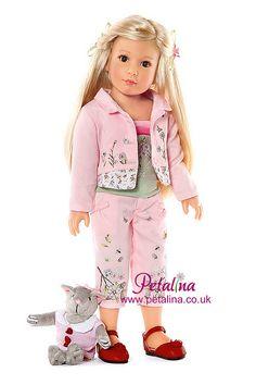Pretty in pink Kidz 'n' Cats dolls Sabine by Petalina Dolls, via Flickr