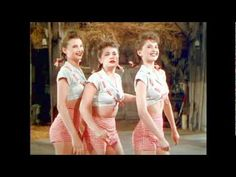 The Ross Sisters - Solid Potato Salad (DVD Quality) Full Video