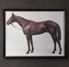 Fancy - 1928 Royal Ascot Thoroughbred Print | Equestrian | Restoration Hardware