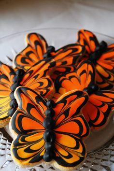 ❥ butterfly edible art