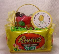 Edible Easter Basket...I am SO doing this!