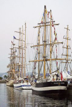 Tall Ships Races, Veleros en A Coruña ,  2012 by Frabisa, via Flickr