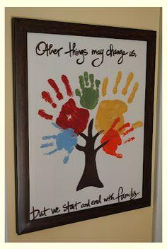 10+ Handprint Family Keepsake Crafts