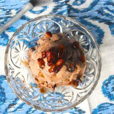 Chocolate Praline Crunch Ice Cream -Dairy Free