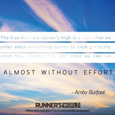 When time stands still ~ The Runner's High | Runner's World