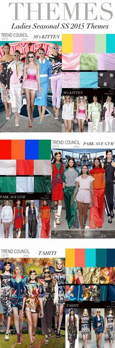 FASHION VIGNETTE: TRENDS // TREND COUNCIL - SPRING/SUMMER 2015 FOR LADIES ss2015, 2015 fashion forecast, springsumm 2015, fashion trend 2015, ss15, 2015 colour trends, ss 2015, trend council, 2015 trend